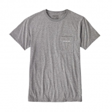Men's Text Logo Rec. Poly Pocket Responsibili-Tee by Patagonia