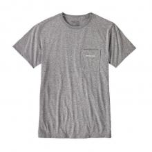 Men's Text Logo Rec. Poly Pocket Responsibili-Tee
