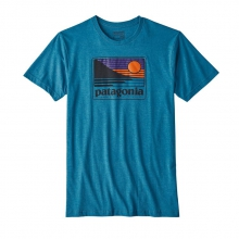 Men's Up & Out Cotton/Poly T-Shirt by Patagonia