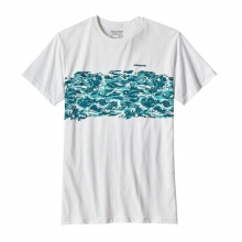 Men's Wild Rapid Band Cotton/Poly T-Shirt by Patagonia