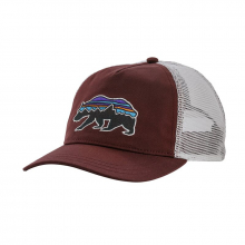 Women's Fitz Roy Bear Layback Trucker Hat by Patagonia in Iowa City IA