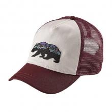 Women's Fitz Roy Bear Layback Trucker Hat by Patagonia