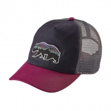 Women's Fitz Roy Bear Layback Trucker Hat by Patagonia in Sioux Falls SD