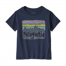 Baby Fitz Roy Skies Organic T-Shirt by Patagonia in Red Deer County Ab