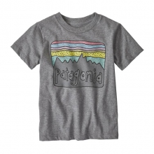 Baby Fitz Roy Skies Organic T-Shirt by Patagonia in Iowa City IA