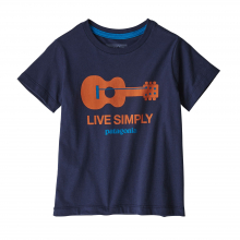 Baby Live Simply Organic T-Shirt by Patagonia in Iowa City IA