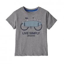 Baby Live Simply Organic T-Shirt by Patagonia in North Vancouver BC