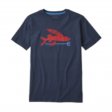 Boys' Flying Fish Organic T-Shirt by Patagonia in North Vancouver BC