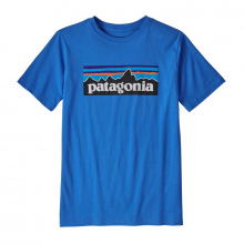 Boys' P-6 Logo Organic T-Shirt by Patagonia in North Vancouver BC