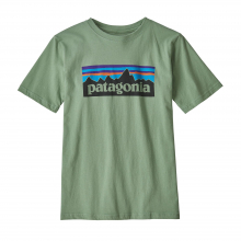 Boys' P-6 Logo Organic T-Shirt by Patagonia in Iowa City IA