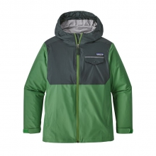 Boys' Torrentshell Jacket by Patagonia in Red Deer Ab