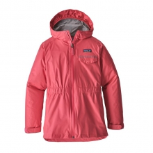 Girls' Torrentshell Jacket by Patagonia in Red Deer Ab