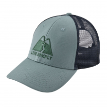 Live Simply Winding LoPro Trucker Hat by Patagonia