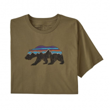 Men's Fitz Roy Bear Organic T-Shirt