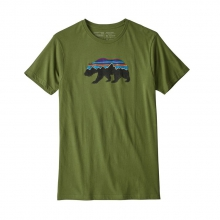 Men's Fitz Roy Bear Organic T-Shirt by Patagonia in Madison Al