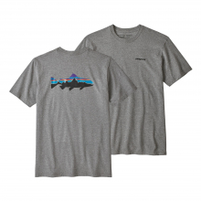 Men's Fitz Roy Trout Responsibili-Tee by Patagonia in Courtenay Bc