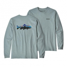 Men's L/S Fitz Roy Trout Responsibili-Tee by Patagonia