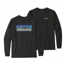 Men's L/S P-6 Logo Responsibili-Tee by Patagonia in Manhattan Beach Ca