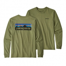 Men's L/S P-6 Logo Responsibili-Tee by Patagonia in Iowa City IA