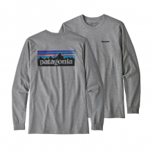 Men's L/S P-6 Logo Responsibili-Tee by Patagonia in Frisco CO