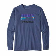Men's L/S Shop Sticker Responsibili-Tee by Patagonia in Iowa City IA