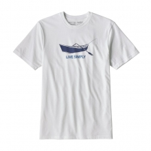 Men's Live Simply Drift Boat Responsibili-Tee by Patagonia in Red Deer County Ab