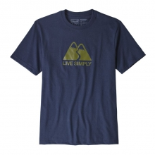 Men's Live Simply Winding Responsibili-Tee by Patagonia in Sioux Falls SD