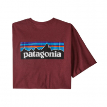 Men's P-6 Logo Pocket Responsibili-Tee by Patagonia in Nanaimo Bc