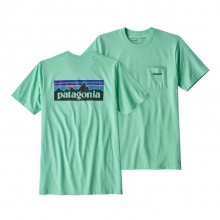 Men's P-6 Logo Pocket Responsibili-Tee by Patagonia in Oxnard Ca