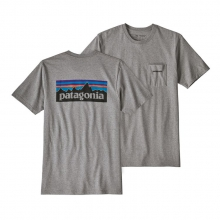 Men's P-6 Logo Pocket Responsibili-Tee by Patagonia in Tuscaloosa Al