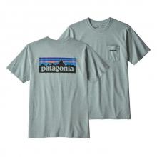 Men's P-6 Logo Pocket Responsibili-Tee by Patagonia in Woodland Hills Ca