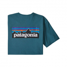 Men's P-6 Logo Responsibili-Tee by Patagonia in Anchorage Ak