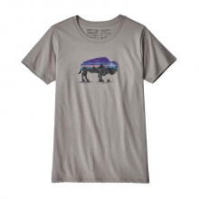 Women's Fitz Roy Bison Organic Crew T-Shirt by Patagonia in Sioux Falls SD