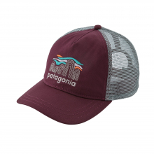 Women's Fitz Roy Boulders Layback Trucker Hat by Patagonia