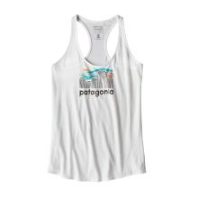 Women's Fitz Roy Boulders Organic Tank by Patagonia in Campbell CA