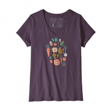 Women's Harvest Haul Organic V-Neck T-Shirt