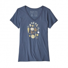 Women's Harvest Haul Organic V-Neck T-Shirt by Patagonia in Hope Ar
