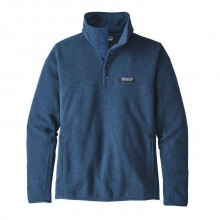 Women's LW Better Sweater Marsupial P/O by Patagonia in Red Deer Ab