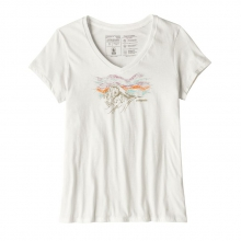 Women's Raindrop Peak Organic V-Neck T-Shirt