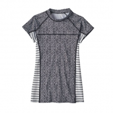 Women's S/S Microswell Rashguard by Patagonia in Campbell CA