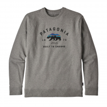Men's Arched Fitz Roy Bear Uprisal Crew Sweatshirt by Patagonia