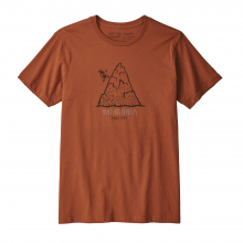 Men's Hoofin It Organic T-Shirt by Patagonia in Sioux Falls SD