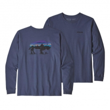 Men's L/S Fitz Roy Bison Responsibili-Tee by Patagonia in Iowa City IA