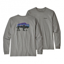 Men's L/S Fitz Roy Bison Responsibili-Tee by Patagonia in Sioux Falls SD
