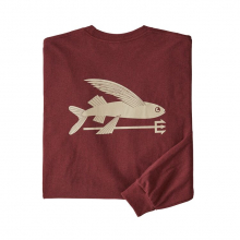 Men's L/S Flying Fish Responsibili-Tee by Patagonia in Red Deer County Ab