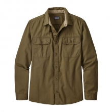 Men's L/S Four Canyons Twill Shirt by Patagonia in Iowa City IA