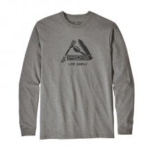 Men's L/S Live Simply Pocketknife Responsibili-Tee by Patagonia in Sioux Falls SD