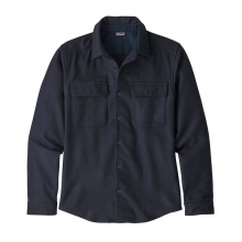 Men's L/S Recycled Wool Shirt by Patagonia in Iowa City IA