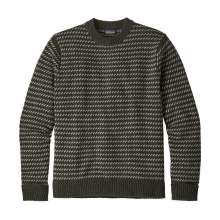 Men's Recycled Wool Sweater by Patagonia in Iowa City IA