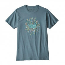 Men's Save Our Rivers Organic T-Shirt by Patagonia in Sioux Falls SD